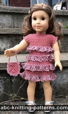 photograph relating to Free Printable Crochet Doll Clothes Patterns for 18 Inch Dolls called ABC Knitting Types - Crochet \u003e\u003e Doll Outfits: 67 Absolutely free