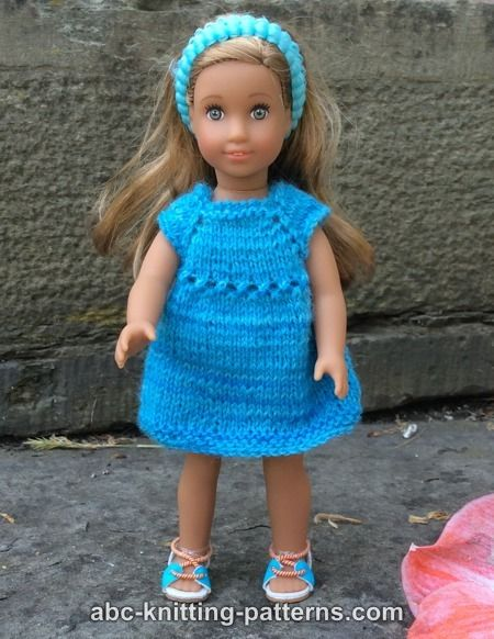 abc free knitting patterns for dolls
