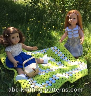 American Girl Doll Summer Meadow Afghan
