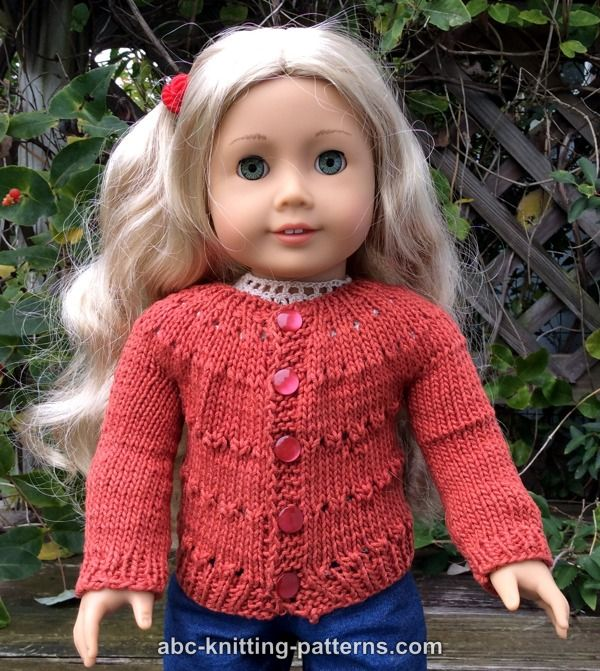 Abc Knitting Patterns Knit Doll Clothes 93 Free Patterns