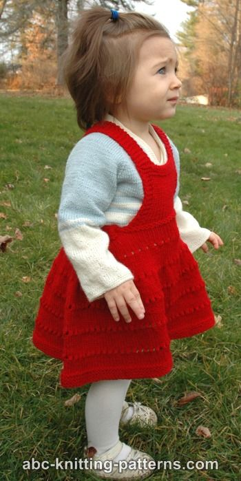 Sweetheart Child's Eyelet Bib Skirt