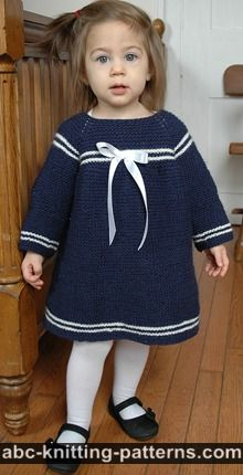 Child's Easy Sailor Dress
