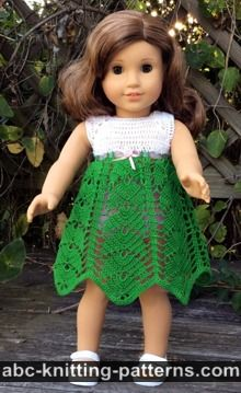 graphic relating to Free Printable Crochet Doll Clothes Patterns for 18 Inch Dolls named ABC Knitting Layouts - Crochet \u003e\u003e Doll Apparel: 67 Cost-free