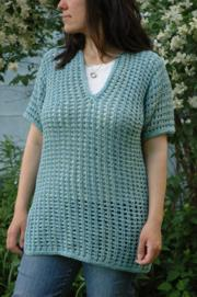 Subtle Mesh Summer Sweater