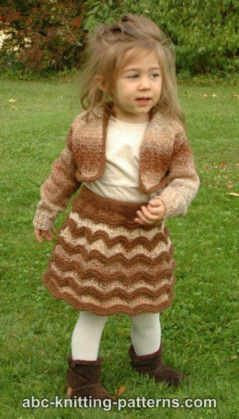 Autumn Gale Child's Cropped Cardigan