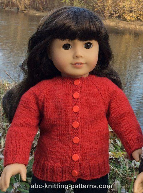 American Knitting Abbreviations Ssk : Abc knitting patterns american girl doll winter nights