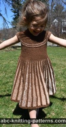 Girl's Sideways Sun Dress