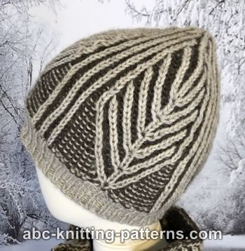Winter Woods Brioche Hat