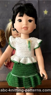 ABC Knitting Patterns. Crochet/Doll Clothes . | 403x220