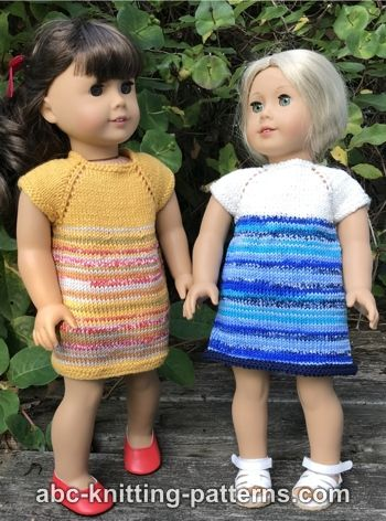 Perfect Little Dress for 18-inch Dolls