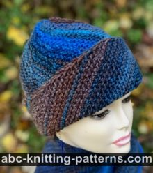 Easy Breezy Bias Hat