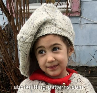 Kid's Vintage Cable Beret