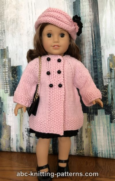 American Girl Doll Vintage Double-Breasted Jacket