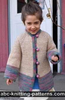 Children's Toggle Topcoat