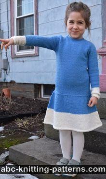 Child's Play Dress Free Knitting Pattern
