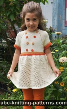 Child's Summer Lace Dress or Tunic
