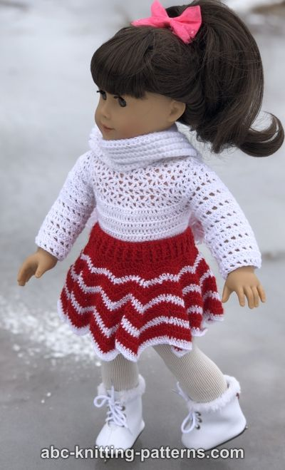 American Girl Doll Leotard Free Crochet Pattern