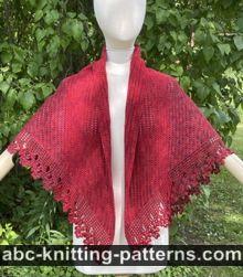 Mountain Ash Shawl Free CrochetPattern