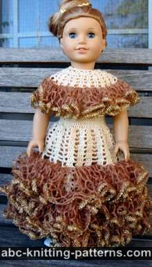 American Girl Doll Southern Belle Dress II