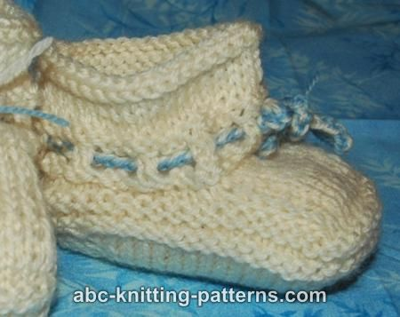 ABC Knitting Patterns Baby Booties Interesting Free Baby Booties Knitting Pattern