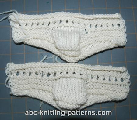 Abc Knitting Patterns Baby Booties