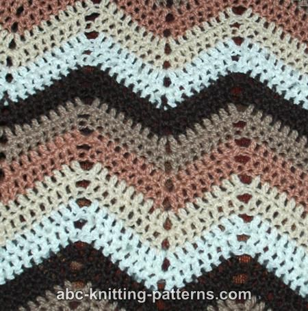 Indie Knitting Patterns : AFGHAN FREE KNITTING PATTERN RIPPLE   FREE Knitting PATTERNS