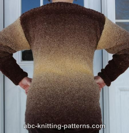 BASIC SWEATER PATTERN The Best Patterns
