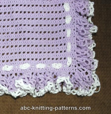 Abc Knitting Patterns Lace Ripple Afghan : ABC BABY BLANKET PATTERN Free Baby Patterns