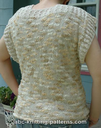 Abc Knitting Patterns : ABC Knitting Patterns - Katia Summer Top