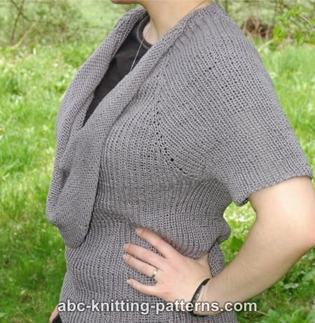 Free Sweater Knitting Patterns - Long-Sleeved Sweater