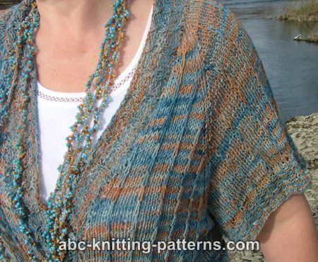 ABC Knitting Patterns - Dulcet Silk Sweater