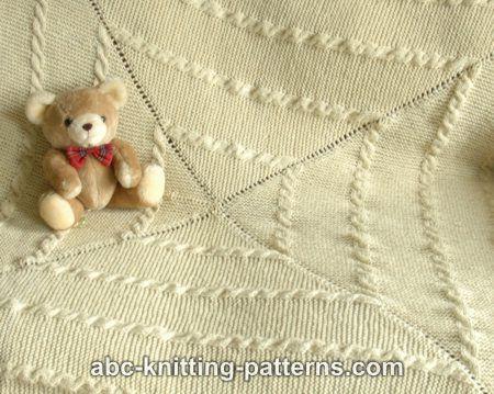 Vector – Vintage Alphabet Quilt. Old Fashioned Baby Blanket Design