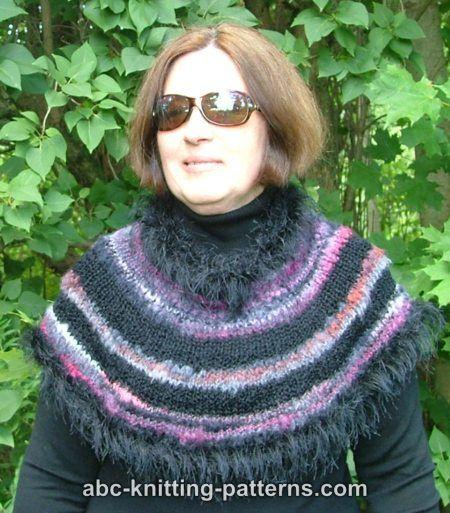 Abc Knitting Patterns : ABC Knitting Patterns - Almost Fur Cowl