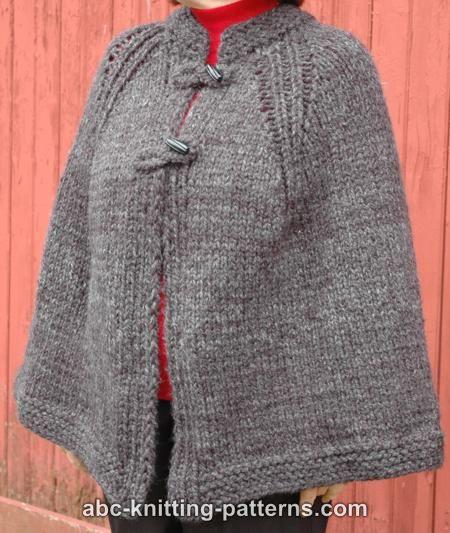 Abc Knitting Patterns Highlands Cape