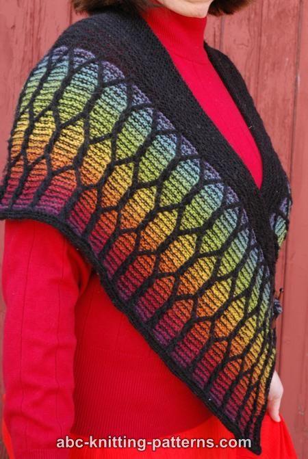 Knitting Crochet In Spanish : Abc knitting patterns spanish baroque shawl