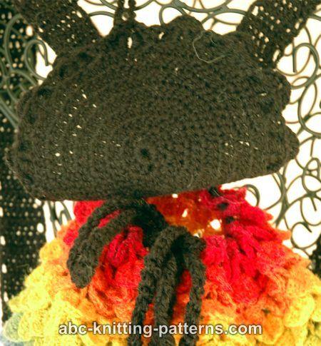 Abc Knitting Patterns Rainbow Dragon Backpack