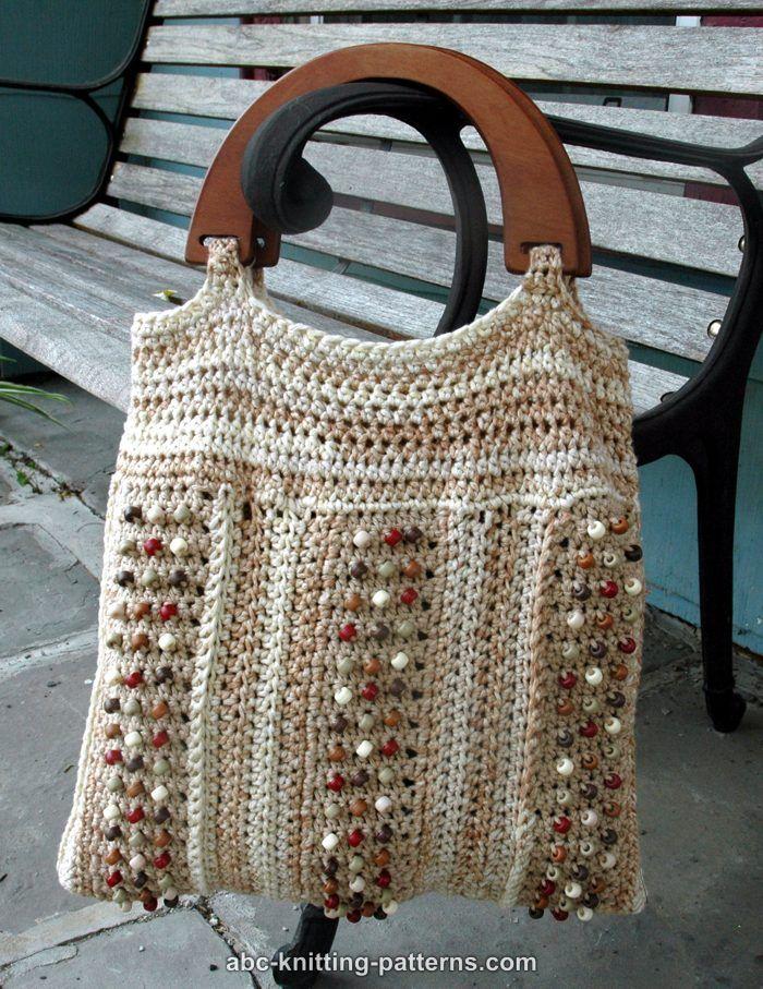 ABC Knitting Patterns - Crochet >> Bags: 10 Free Patterns