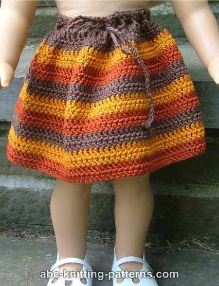 Abc Knitting Patterns American Girl Doll Back To School Outfit