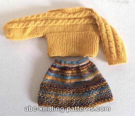 Abc Knitting Patterns : ABC Knitting Patterns - American Girl Doll Cuff-to-Cuff ...
