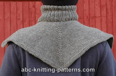Abc Knitting Patterns Biker S Cowl Dickie