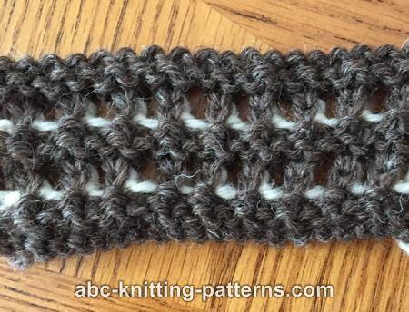 Abc Knitting Patterns Subtle Mesh Summer Sweater