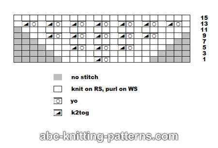 Black dress knit k2tog